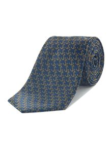 Howick Tailored Anchor jacquard conversational silk tie