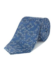 Howick Tailored Barnes floral jacquard silk tie