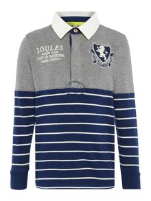 Joules Boys Rugby Shirt Long Sleeve