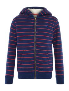 Joules Boy`s Zip Hooded Sweat Jumper