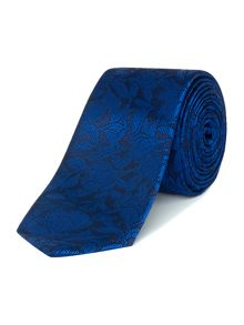 Kenneth Cole Madison large floral jacquard silk tie