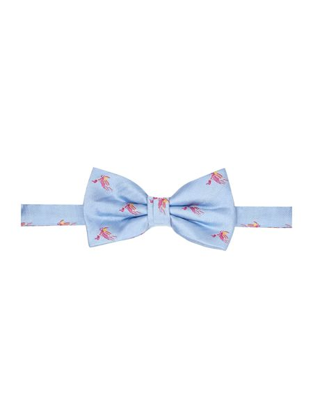 Turner & Sanderson Lustleigh conversational silk bow tie