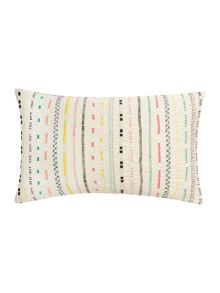 Linea Kaibu multi stripe cushion