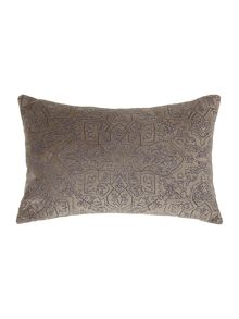 Junipa Lilia embroidered cushion
