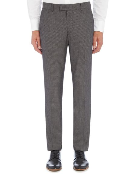 Farah Pullman Houndstooth Skinny Fit Trousers