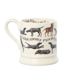 Emma Bridgewater All over labrador 1/2 pint mug boxed