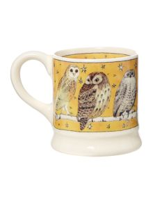 Emma Bridgewater Owls at night tiny mug christmas decoration boxed