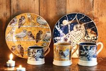 Emma Bridgewater Owls at Night Set of 2 1/2 Pint Mugs Boxed