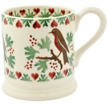 Emma Bridgewater Joy Robin 1/2 Pint Mug