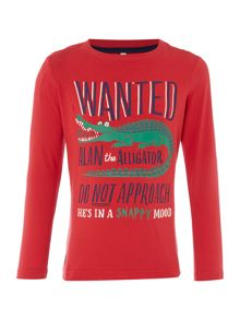 Joules Boys Glow Long Sleeve T Shirt