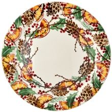 Emma Bridgewater Holly Wreath Cake Plate