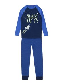 Joules Boy`s PJ Set Glow