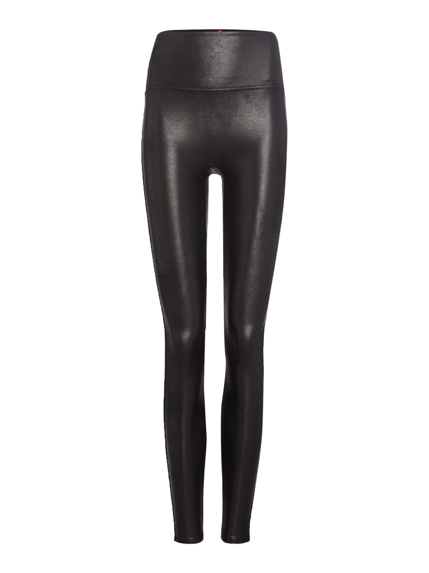 Spanx Faux leather leggings, Black