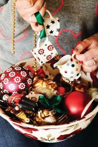 Emma Bridgewater Polka Tea Cup Christmas Decoration