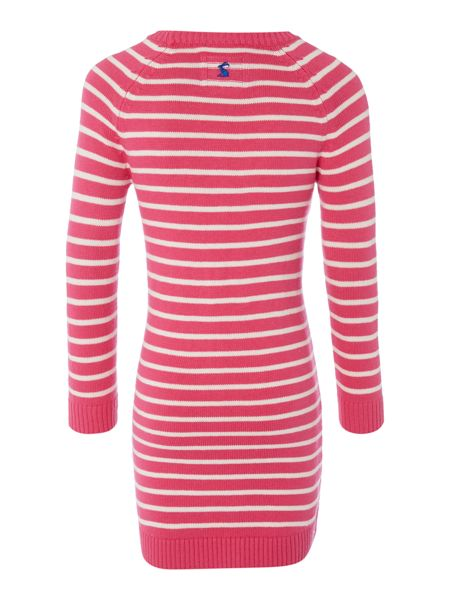 Joules Girls Dress Long Sleeve Knitted
