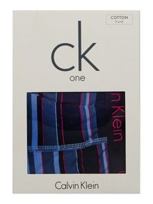 Calvin Klein Cotton Striped Trunk