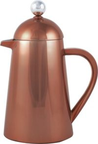 La Cafetiere Origins 8 Cup double walled Thermique, copper