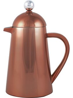 Origins 8 Cup double walled Thermique, copper