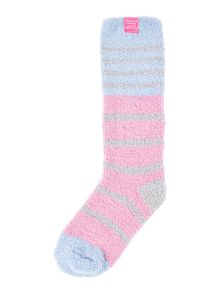Joules Girl`s Fluffy Sock