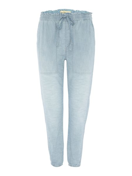 Denim and Supply Ralph Lauren Wesley chambray cotton jogger