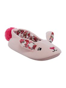 Joules Girls Bunny Slippers