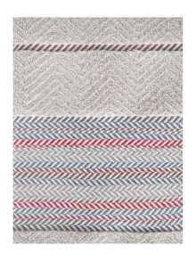 Linea Casual collection chevron border towel