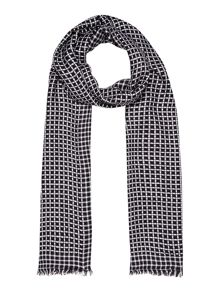 Dickins & Jones Desiree noughts and crosses scarf