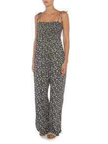 Denim and Supply Ralph Lauren Wide leg floral trousers