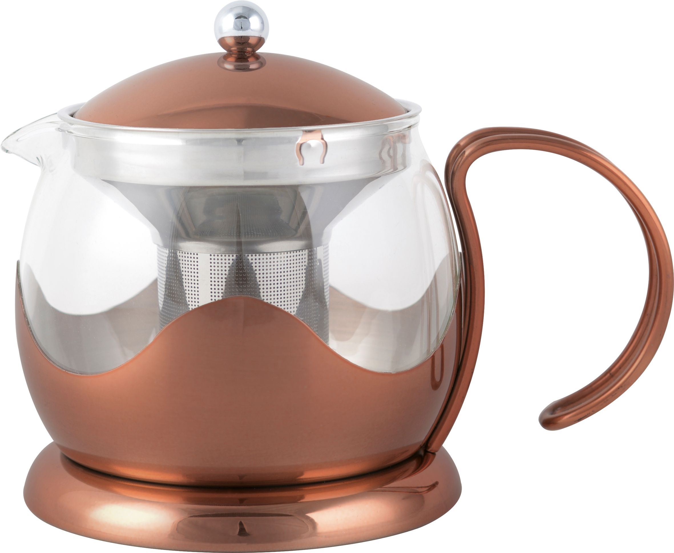 Image of La Cafetiere Origins teapot 1200ml, copper