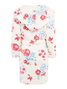 Joules Girls Nightwear Floral Bath Robe