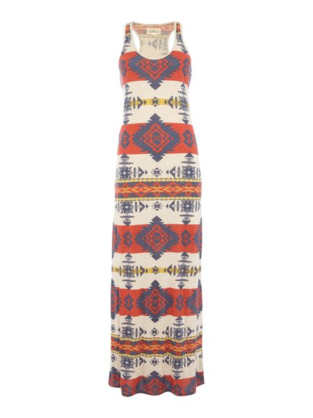 Denim and Supply Ralph Lauren Sleeveless pattern dress