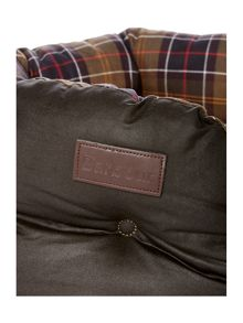 Barbour Waxed Cotton 24 Dog Bed