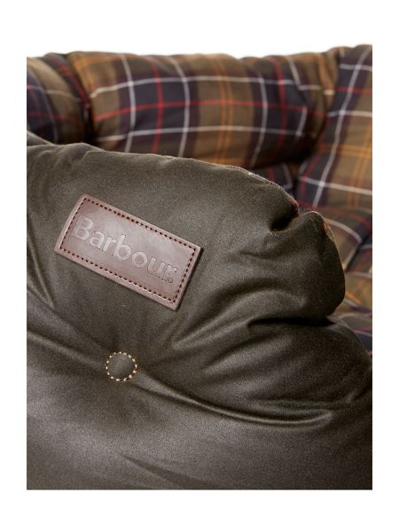 Barbour Waxed Cotton 30 inch Dog Bed