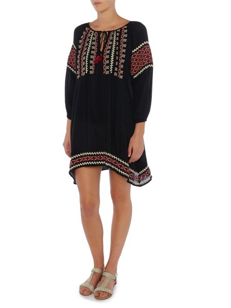 Denim and Supply Ralph Lauren Esme embroidered tunic