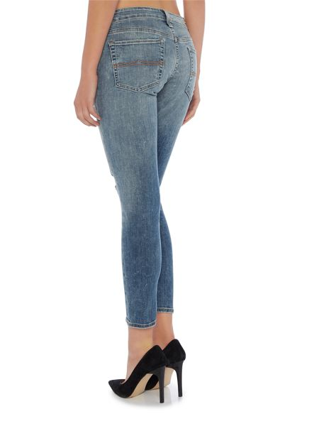 Denim and Supply Ralph Lauren Cropped skinny 5 pocket jean