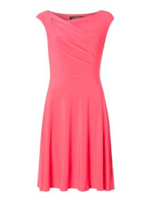 Lauren Ralph Lauren Philana Cap Sleeve Dress