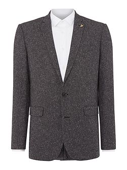 Brunswick Tweed Skinny Fit Blazer