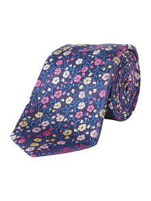Turner & Sanderson Findon Multi Floral Silk Tie