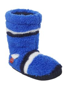 Joules Boy`s Fluffy Slipper Sock