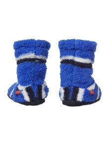 Joules Boys Fluffy Slipper Socks