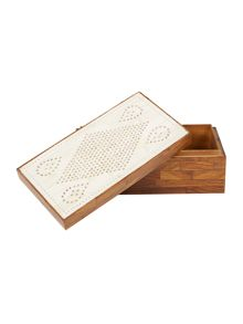 Linea Bone and Wood box
