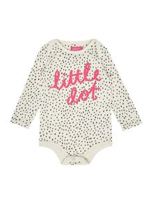 Joules New Born Girl Bodysuit