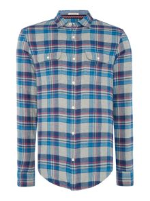 Original Penguin Cotton Brushed Long-Sleeve Shirt