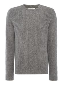 Original Penguin Jersey Crew-Neck Knitted Jumper