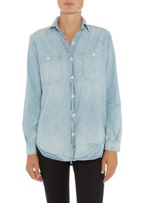 Denim and Supply Ralph Lauren Boyfriend fit denim shirt