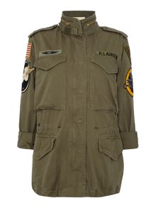 Denim and Supply Ralph Lauren Oversized flight pilot jacket