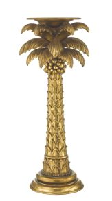 Biba Palm tree candlestick large