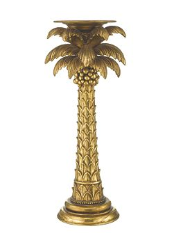 Palm tree candlestick large