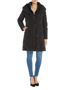 Lauren Ralph Lauren Down coat with pillow collar