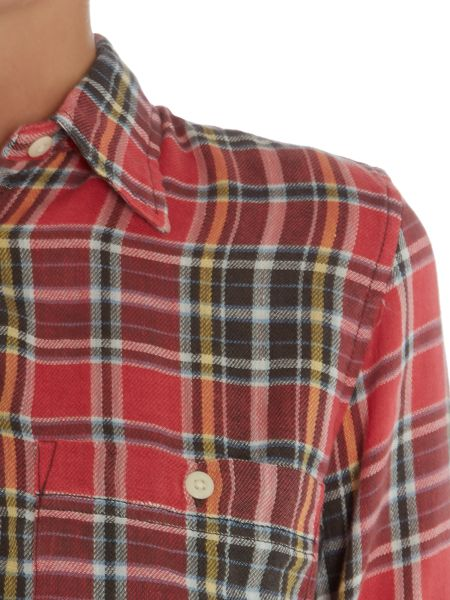 Denim and Supply Ralph Lauren Utility plaid shirt